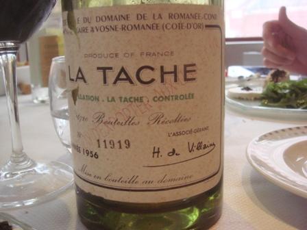 D jeuner avec la t che 1956 acad mie des vins anciens - Tache de vin sur tapis ...