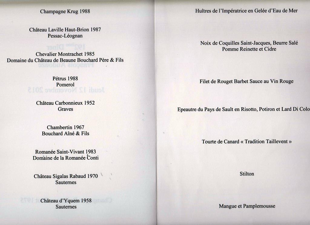 menu Taillevent 151112 002