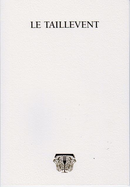 menu Taillevent 151112 003