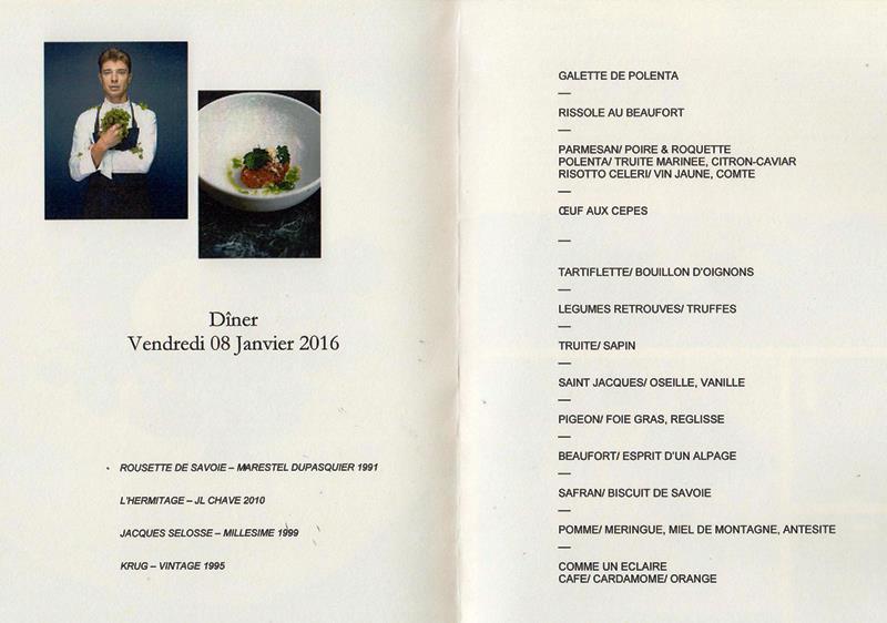 dîner Sulpice DINER 8