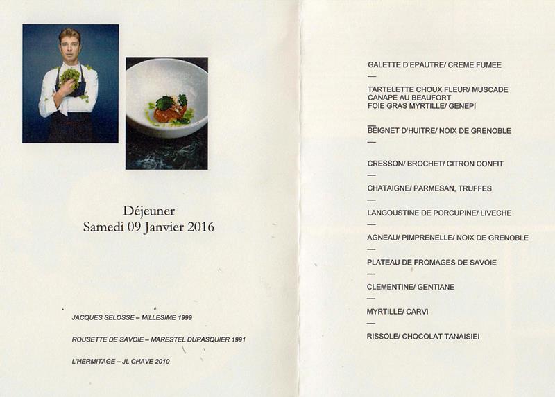 dîner Sulpice déj 9