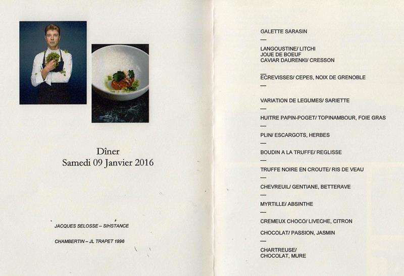 dîner Sulpice dîner 9
