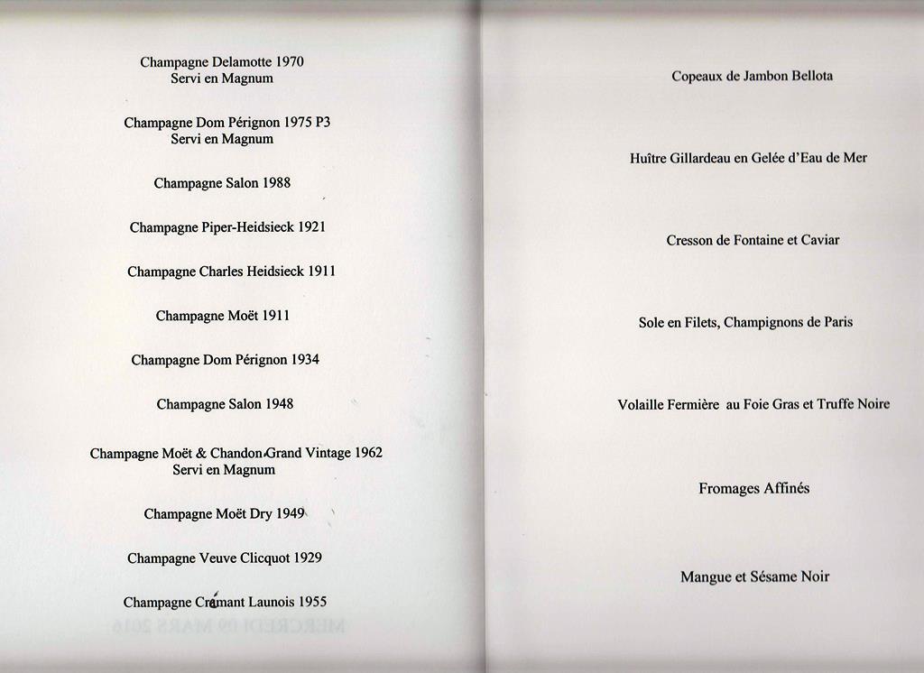 menu Taillevent 160309 001