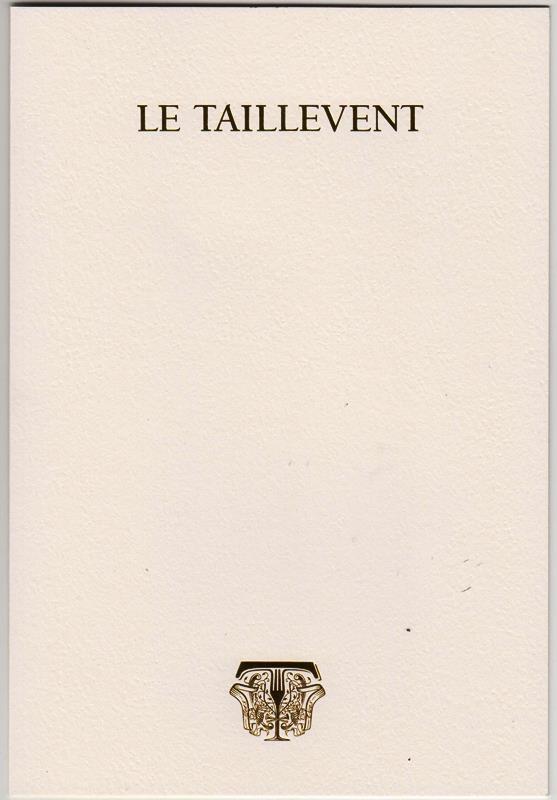 menu Taillevent 160309 002